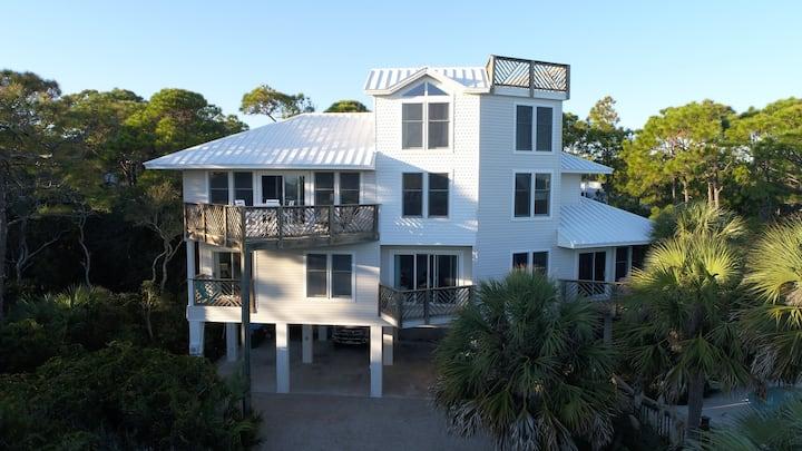 1ST Tier Plantation Beach Home w/ Gulf Views!