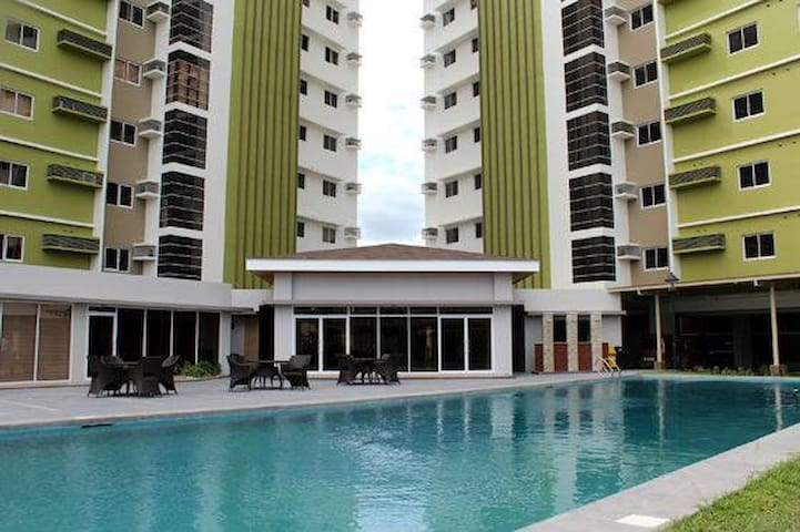#1 New Cozy Studio Condo Cebu City WiFi Pool Gymn