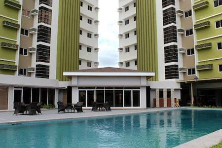 #1 New Cozy Studio Condo Cebu City - Mandaue City - Appartement