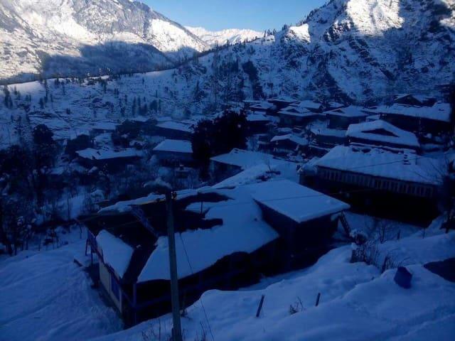 Wooden Villa in the Great Himalayas - Naggar, Himachal Pradesh, IN - Villa