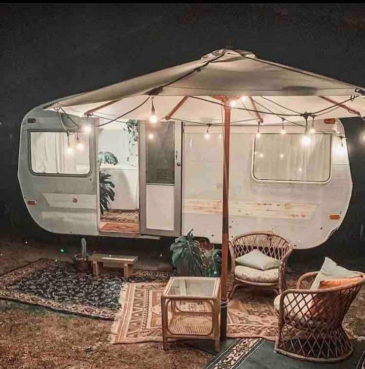 Sleepovers with Maple the Caravan