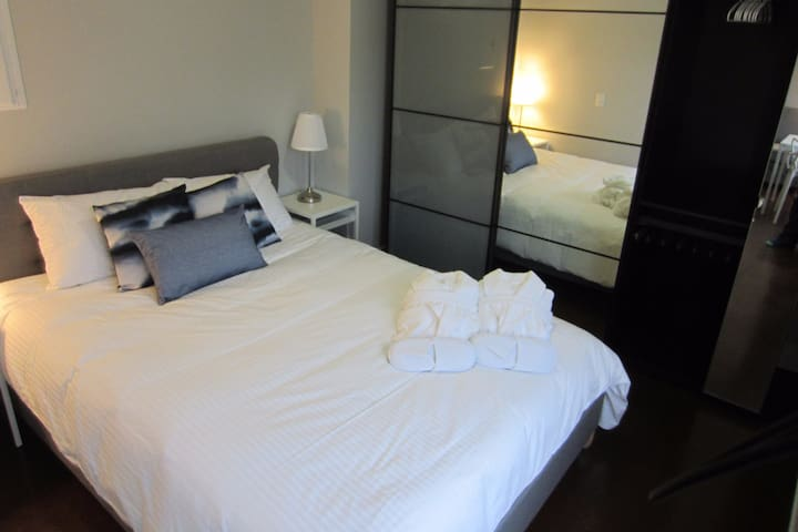 Serviced apartment close to hospitals & downtown