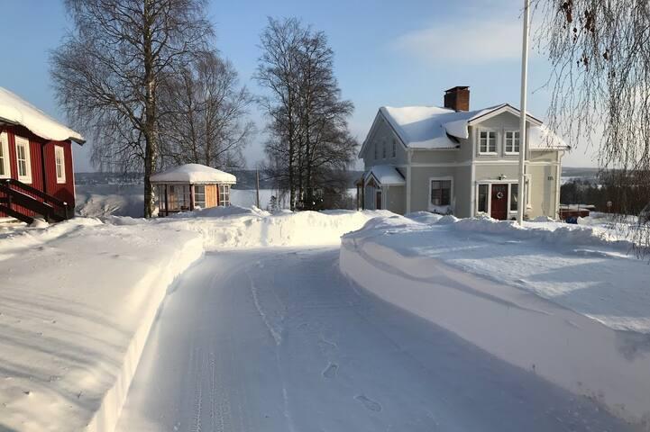 Spegelgården in the winter.