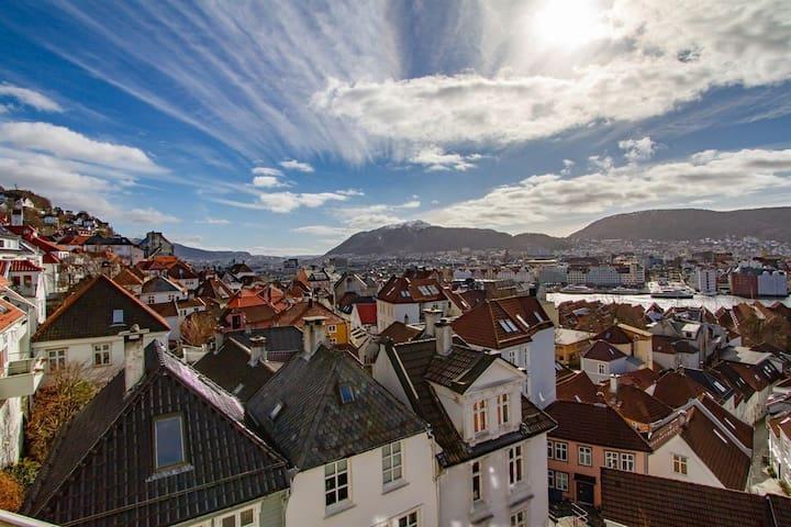 Leilighet med 3 soverom i Bergen sentrum