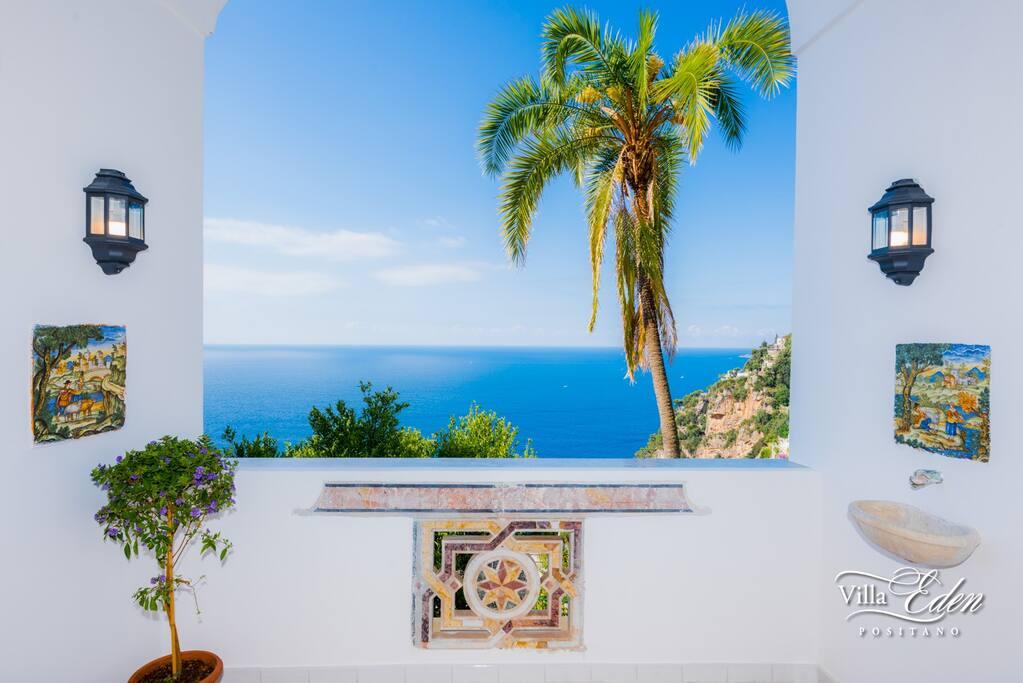 Sea View from Villa
