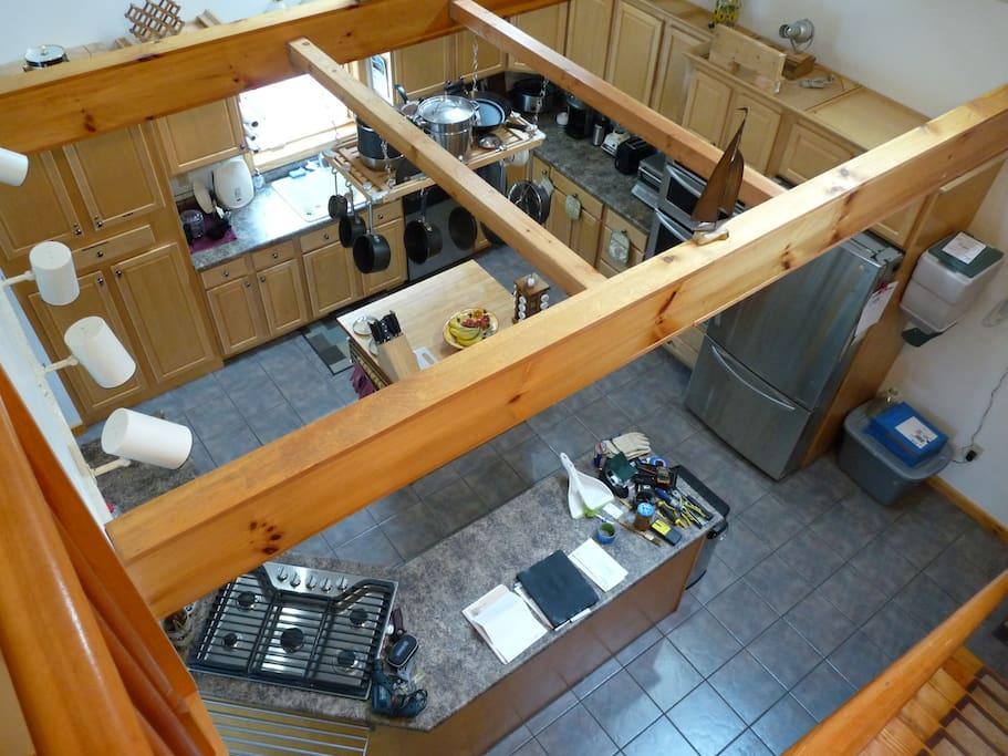 Kitchen from Loft
