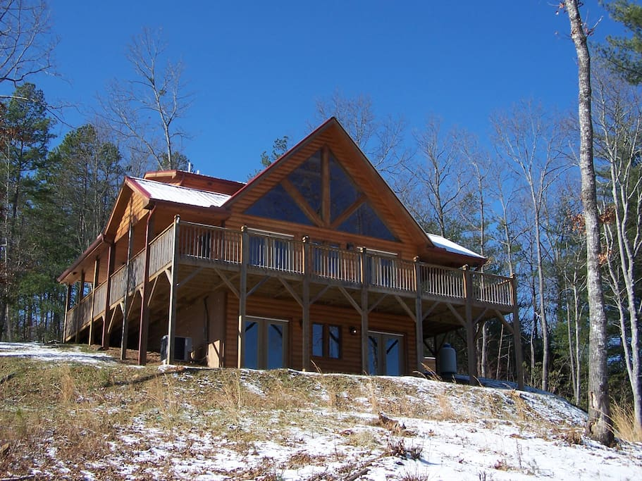 Bear Tales Lodge Rustic Luxurycabin Cabins For Rent In