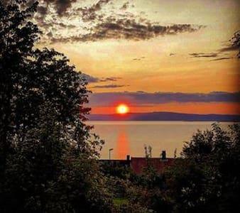 Fantastic view in Malvik. - Malvik - Apartamento