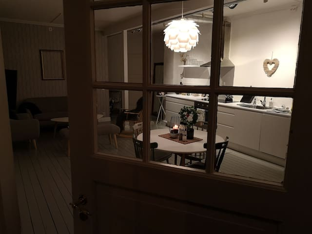 Cozy and warm apartment in the center of Harstad.