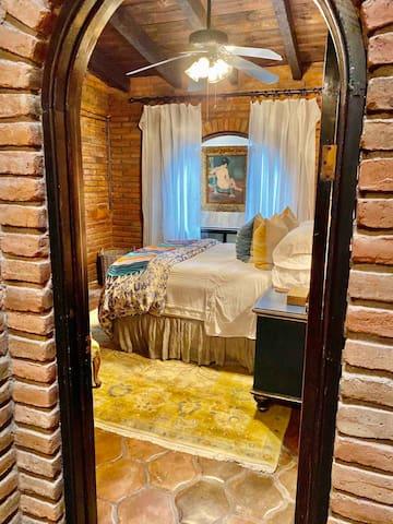 The bedroom awaits