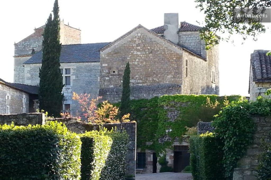 Vue générale du chateau