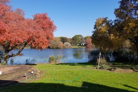 Beautiful Farm Ranch with a View of the Pond