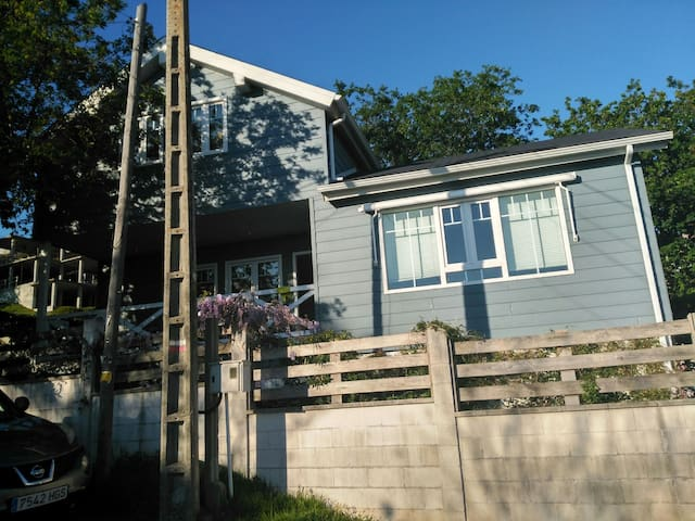 Casa en  la PLAYA con JARDÍN - Cangas - Wohnung