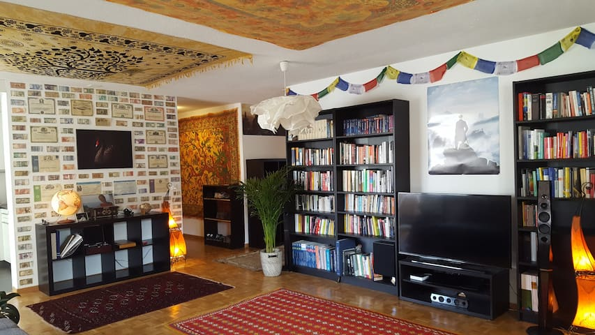 Cozy room near lake - Zurych - Apartament