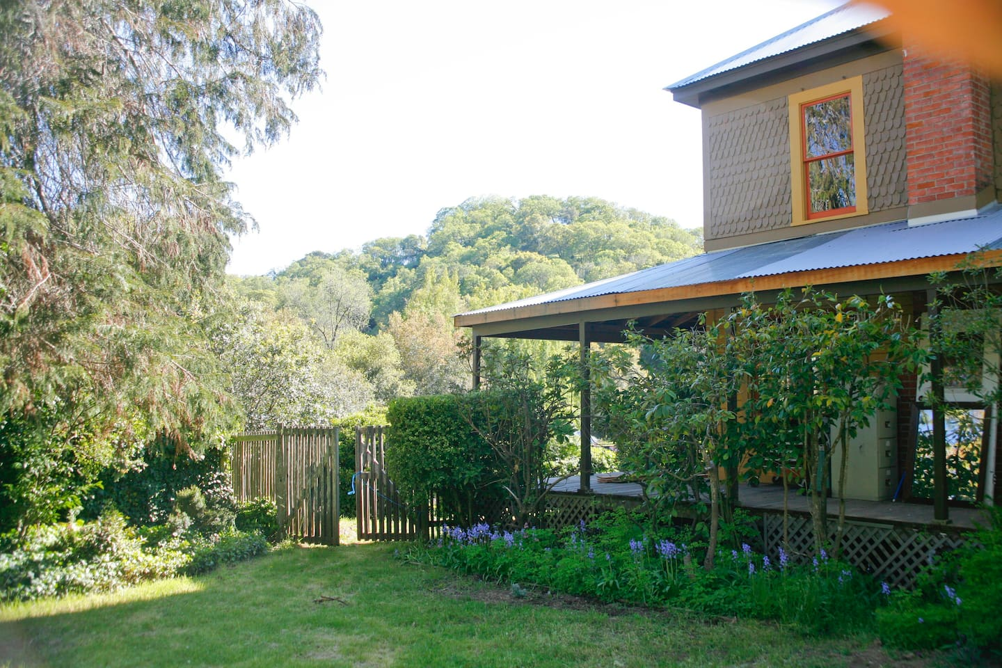 Wrap around decking of the BunkHouse and TollHouse