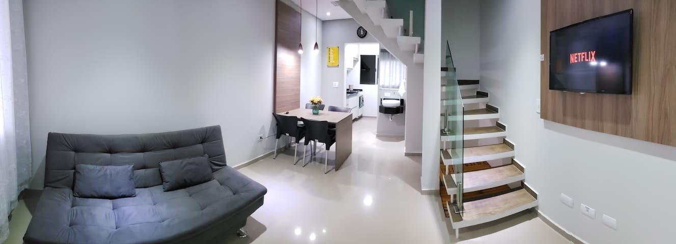 Casa na divisa de Suzano x Mogi-família & Business