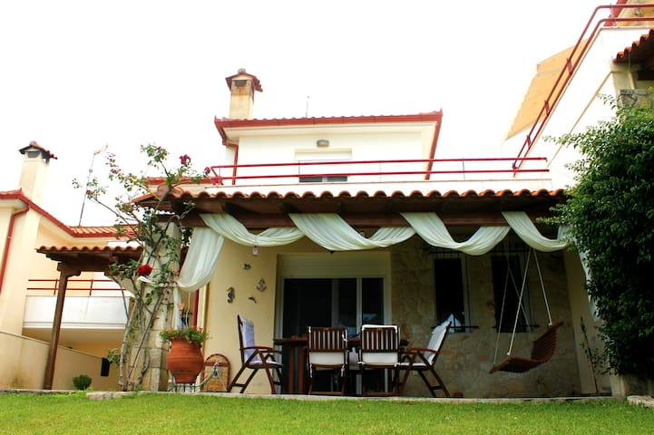 Comfortable maisonette with stunning views!!! - Chaniotis - Hus