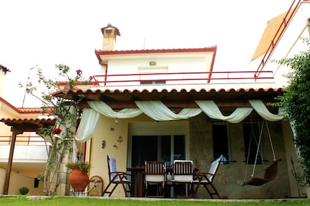 Comfortable maisonette with stunning views!!! - Chaniotis