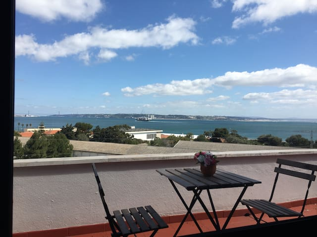 Apartamento fantastica vista mar - Paço de Arcos - Appartement