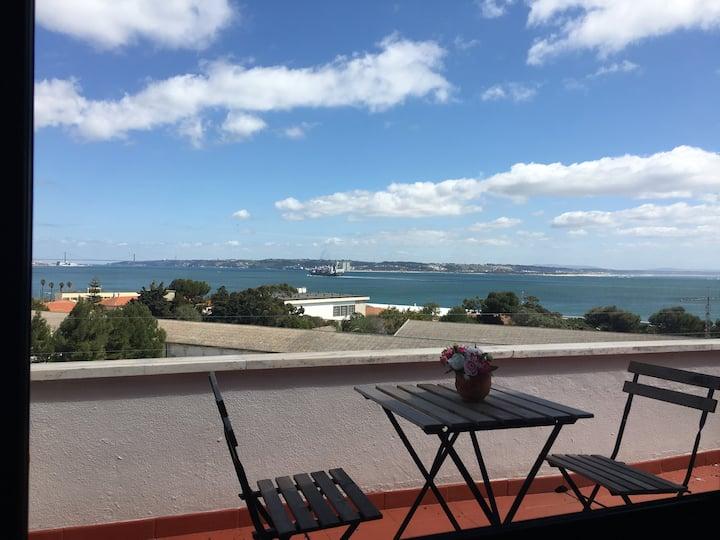 Apartamento fantastica vista mar