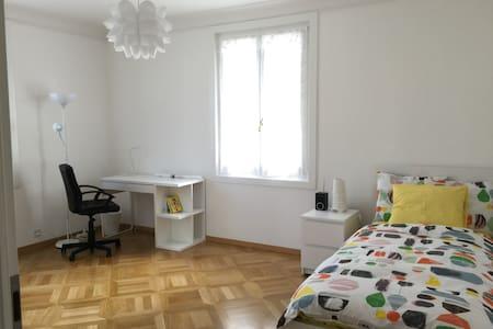Morges, chambre neuve dans le centre, +2 - Morges