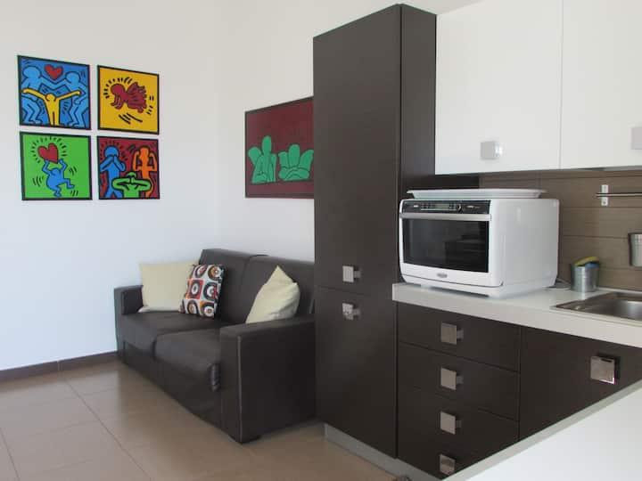 Spazioso appartamento vista mare