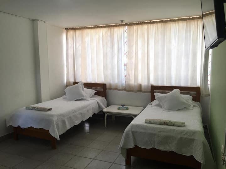 Cómodas habitaciones en Melgar