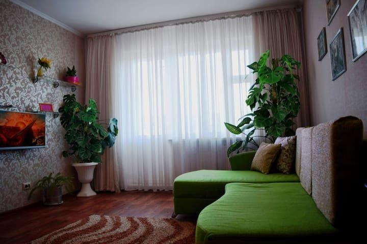 2-комн квартира на сутки с хорошим ремонтом, Wi-Fi - Mahilioŭ - Apartemen