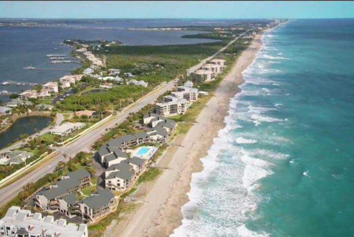 Dreamy Beachfront Paradise: First Floor 2BR Condo