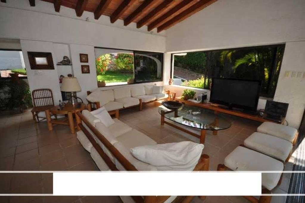 La Sala de la casa, la comodidad y la Vista