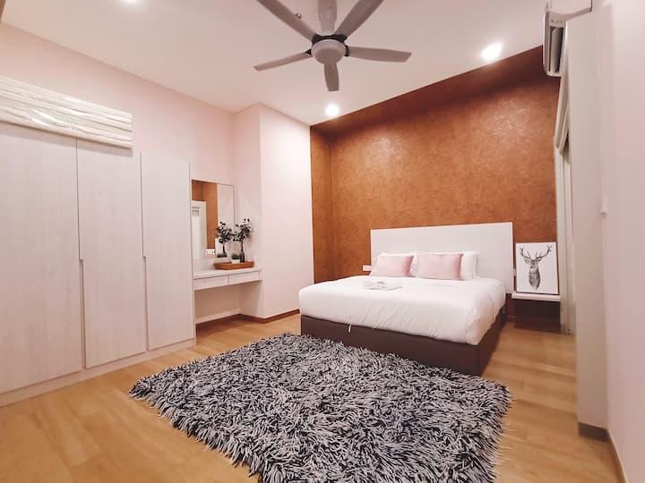 1-4pax Desa parkcity cozy suite (Eat,Play,Live)