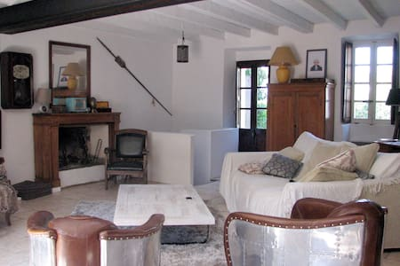 charmante maison en pierre au calme - Cauro - House