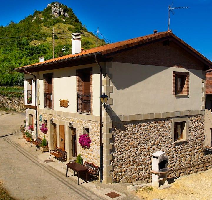 Acogedora  casa   en un entorno rural II
