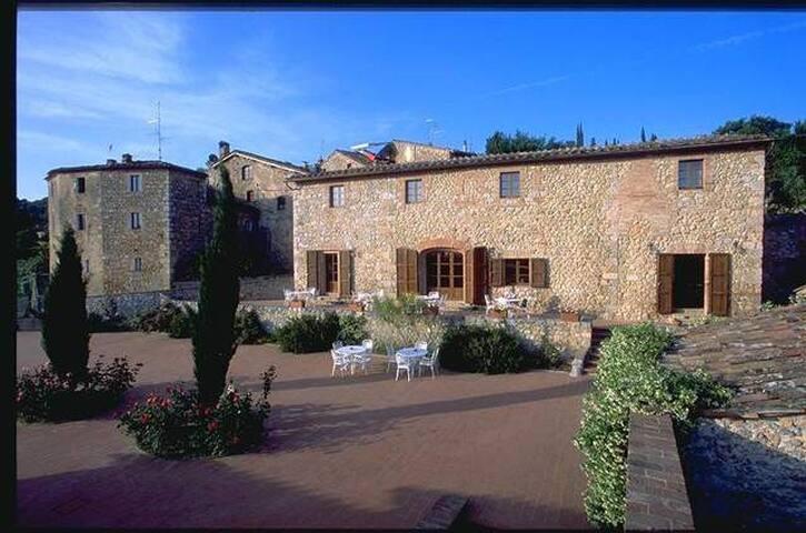 Sistemazioni in case coloniche a Siena