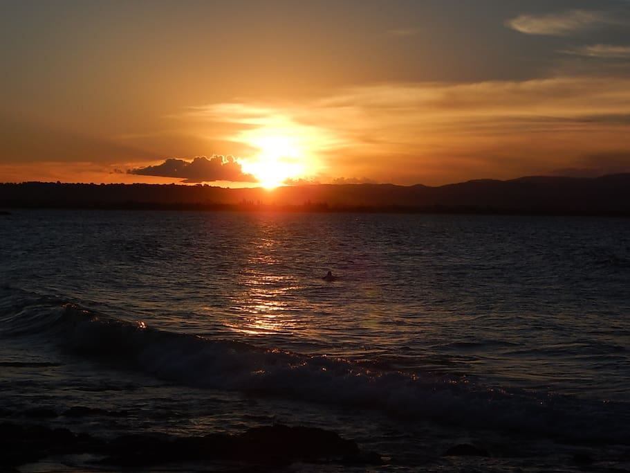 most beautiful sunsets on the beach
