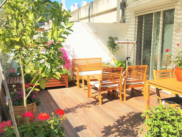 ♕ Central, TERRACE, Sea View, Parking and Fitness