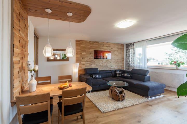 Traum-Apartment mit Panorama-Balkon - Nürnberg - Appartement