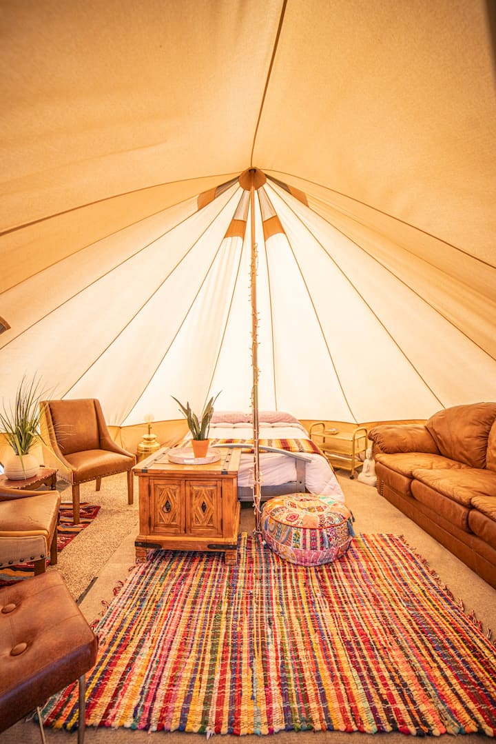 The Wonder Valley Yurts - Zen