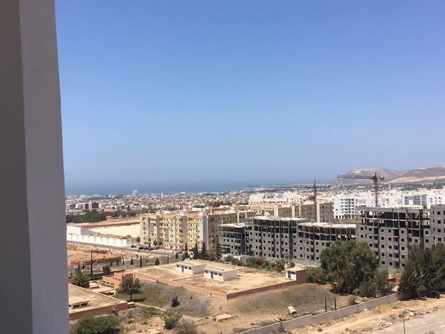 Appartement déco berbère sur les hauteurs d'Agadir