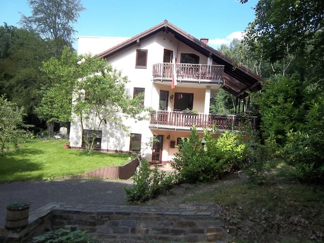 wonderful house for 10 persons, dogs welcome