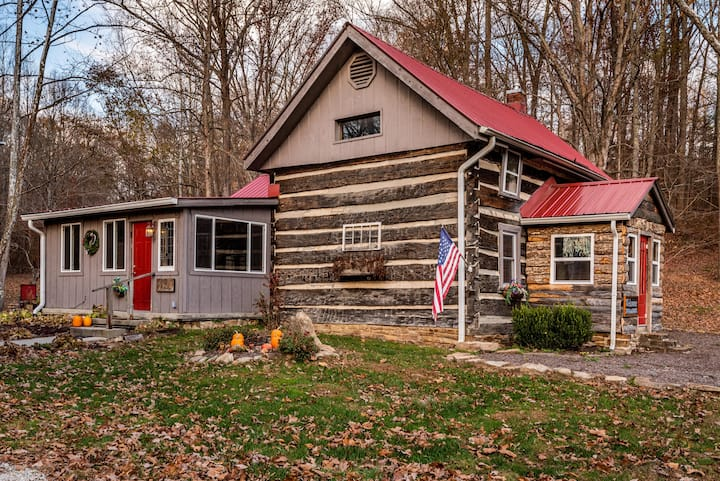 Bella Woods Log Cabin