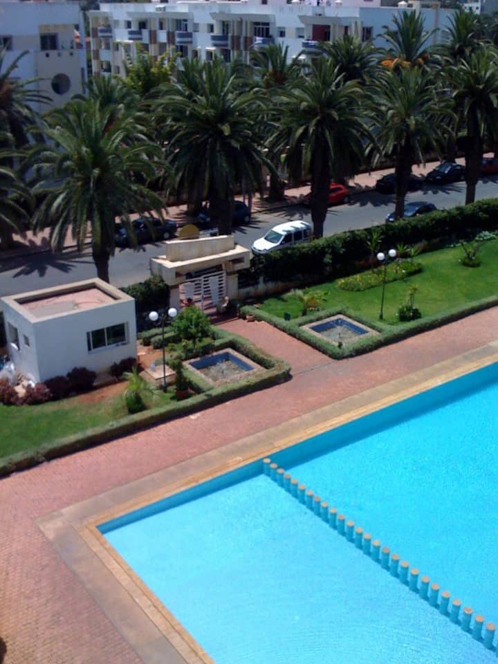Apartment sur corniche mohammedia beach palace2