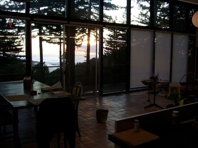 Secluded Woodside mountain home - Woodside - Ev