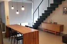 (74) Apto moderno loft Itaim completo  wi fi
