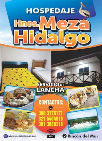 Hospedaje hnos meza Hidalgo