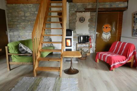Le Temps de vivre - Les Planches-en-Montagne - Apartament