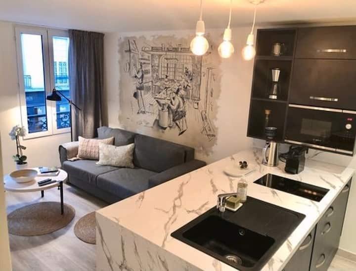 Cocooning appartement Paris