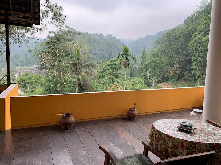 Secret Gem (Balinese Villa) in mountains of Ciawi