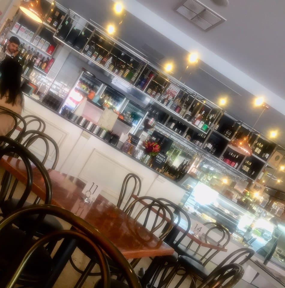 Local cafes to enjoy a meal with a wine, or coffee and cake