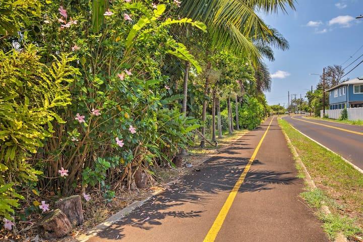 Beautiful bike path